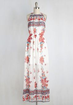 Between Me and Utopia Dress in Floral Borders, @ModCloth