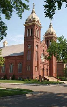 Michael's church Grand Forks ND Fighting Sioux, Pennies From Heaven, Michael Church, Red Lake, Grand Forks, The Great White, Red River, Mosques, Forts