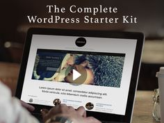 The 0-100 WordPress Starter Kit: Become A WP Pro In A Weekend - Supercharge Your WordPress Skills - 10 Premium Themes & 6 WP Tutorials (Over 33 Hours Of Content)