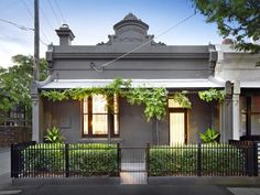 41 Charles Street, Prahran, Vic View property details and sold price of 41 Charles Street & other properties in Prahran, Vic House Exteriors, Facades, Porch, Pergola, Real Estate, Outdoor Structures, Street, Grey, Outdoor Decor