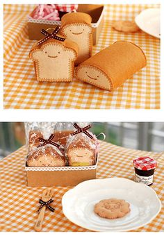 Lovely on Flickr (bread plushie idea)