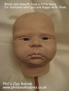 tutorial - sculpt baby head I have serious reservations about this, but I'd like to learn the skill.