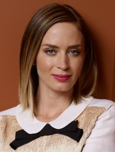 Emily Blunt  haircolor