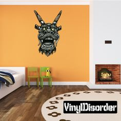 Mythical Creature Dragon Wall Decal - Vinyl Car Sticker - Uscolor053