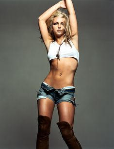 Britney Spears. shes my inspiration to look like that.