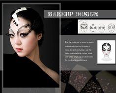 SHOCK makeup design