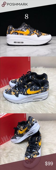 brand new 5d1e4 46894 Nike air max 1 QS floral nee Size 8 in women s Retail  140 New without box