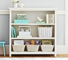 Cameron 3 Shelf Bookcase Pottery Barn