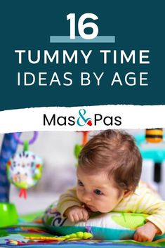 Feb 19, 2020 - When should you start tummy time? And why? What on earth do you do if your baby really doesn't like it? Here are 16 tummy time ideas to make it more fun for your baby.