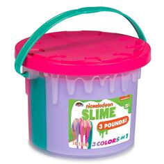 Nickelodeon Slime Tri Color Tub by Cra-Z-Art, Purple Slime Toy, Diy Slime, Toy Cars For Kids, Toys For Girls, Nerf Bow And Arrow, Minnie Mouse Toys, Barbie Doll Set, Barbie Kitchen, Princess Toys