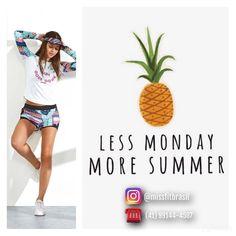 """""""Menos segundas-feiras e MAIS verão """".  Bom dia meninas!! Ótima semana para todas nós. Já estamos contando os dias para o verão.  Vem comprar seus looks para os dias de calor.  _____________________________________________ Nossos canais de compra: .  http://ift.tt/1PcILpP Whatsapp: 41 99144-4587  Loja virtual no face: Acesse missfitbrasilhf  USA Store: www.fitzee.biz. .  Worldwide shipping  Parcele em até 4x sem juros via Pagseguro  15% de desconto para pagamento a vista via…"""
