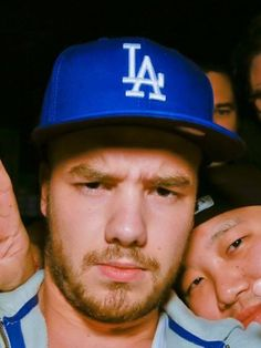 Liam Payne. Im sorry but hes wearing a dodgers hat and i can't not repin this