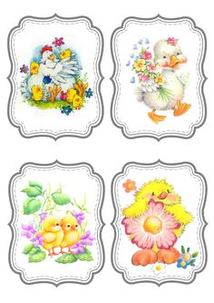Easter Art, Easter Crafts, Easter Images Clip Art, Easter Printables, Tatty Teddy, Decoupage Paper, Spring Crafts, Xmas Cards, Cardmaking