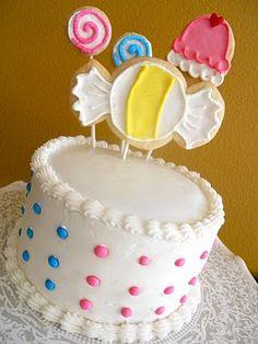 candy themed smash cake