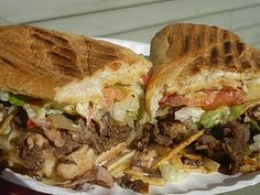Tripleta- chicken, ham, beef sandwich.  If you're ever in PR, try it. If you're a meat lover, this is for you!