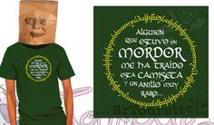 Recuerdo de tu viaje a Mordor. ANILLOS.