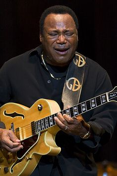 George Benson pairs great with the Mango Freeze at #JazzFest! Check out our other #food and #music pairings! #NOLA