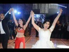 زفاف ايتن عامر وعز بحضور الفنانين ونجوم الرياضة والغناء والرقص