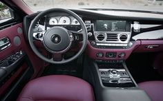 2010 Rolls Royce ghost interior