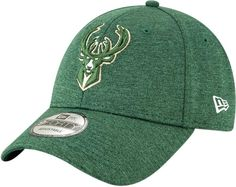2960ccaee86e0 Milwaukee Bucks New Era 940 Shadow Tech Green Baseball Cap – lovemycap