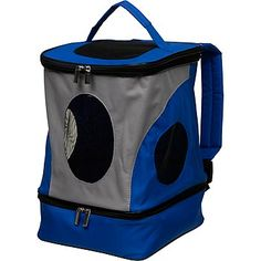 Marshall Pet Products Pack-N-Go Small Pet Carrier (bottom pocket would be good for holding bottles, formula, food, and towels/pee pads for kittens not yet litter trained.