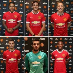 Manchester United's summer signings, 2015.