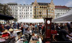 The Naschmarkt, Wieden, Vienna.