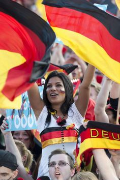 A Gallery of Sexy German Soccer Germany Football Team, Hot Football Fans, Football Images, Football Girls, Soccer Fans, Female Football, Soccer World, World Football, Fifa