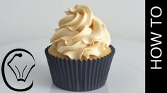 How To Make Thick Stable Caramel Swiss Meringue Buttercream by Cupcake Savvy's Kitchen - YouTube