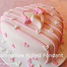 Marshmallow Rolled Fondant