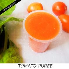 HOMEMADE TOMATO PUREE RECIPE