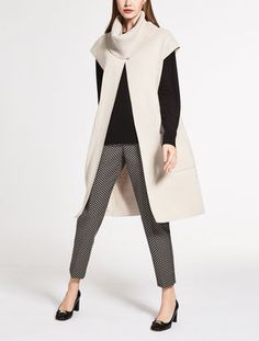 Wool and silk cardigan
