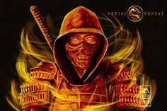 Scorpion Mortal Kombat, Mortal Kombat Art, Mortal Combat, Rapper Art, Batman Vs Superman, Playstation, Oc, Dark, Movie Posters