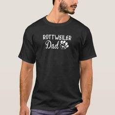 Rottweiler Dad Funny Gift Shirt   big rottweiler, rottweiler husky mix, husky rottweiler mix #rottweilerworld #rottweilertales #rottweilerfan T Shirts, Funny Tshirts, Tees, Softball Shirts, Girls Softball, Talking T, I Love My Wife, Husky Mix, Facon