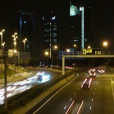 #Madrid norte nocturno