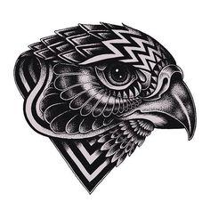 Falcon head design, stickers coming soon