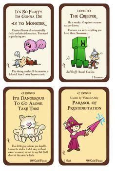 Munchkin Custom Cards by Zaree-Nilerabanwen.deviantart.com on @deviantART