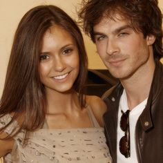 Ian Somerhalder and Nina Dobrev LOOK SO YOUNG