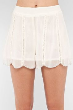 Frilly shorts are always okay