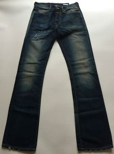 Mens Replay Jeans 29 x 34 Slohand Bootcut New  Authentic RRP£125