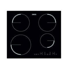 Zanussi ZEL6640FBV 600mm Induction Hob 4 Zones Touch Control Black