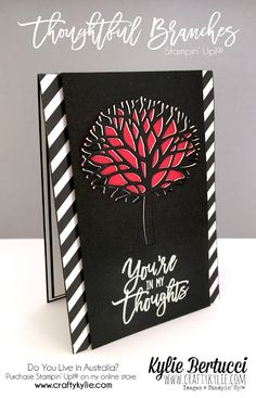 Stampin' Up! Australia: Kylie Bertucci Independent Demonstrator: Crazy Crafters Blog Hop - Thoughtful Branches