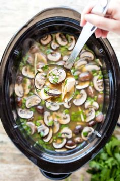 Slow Cooker Chinese Hot and Sour Soup makes it super easy to make your American Chinese restaurant favorite at home. Crock Pot Soup, Crock Pot Slow Cooker, Crock Pot Cooking, Slow Cooker Recipes, Soup Recipes, Cooking Recipes, Hot And Sour Soup, Asian Soup, Miso Soup
