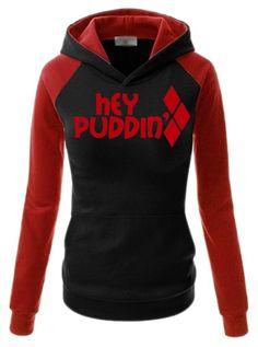 Harley Quinn hoodie by cj-gosh on Polyvore