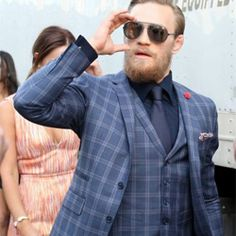 The Suits of Conor McGregor Conor Mcgregor Suit, Mcgregor Suits, Connor Mcgregor, Gentleman Style, Ufc, Well Dressed, Mens Suits, Mens Fashion, Classy Fashion