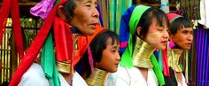"Amazing cultures of Thailand. These women are known as ""long necks"" in their culture this is beauty"