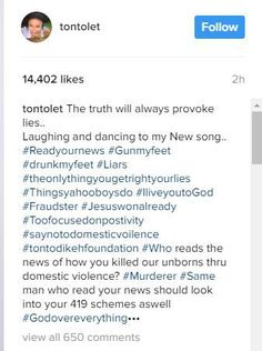 Tonto Dikeh reacts to reports she pulled out a gun during a fight with her husband reveals hes a yahoo yahoo boy who killed their unborn child