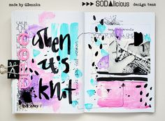 SODAlicious: art journal ► challenge by olennka