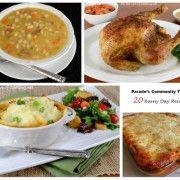 Parade's Community Table ~ 20 Rainy Day Recipes
