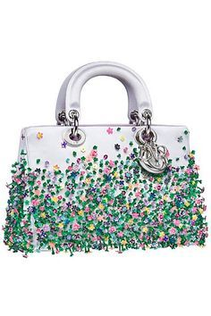 Dior - Bags - 2014 Fall-Winter Love the pattern. TG